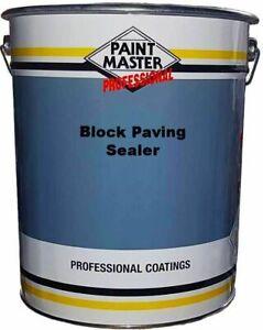 Wet look driveway sealer block paving -patio sealant 20ltr