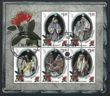 NEW ZEALAND 2018 CHRISTMAS MINIATURE SHEET FINE USED