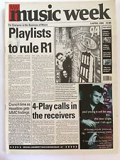 MUSIC WEEK MAGAZINE  9 APRIL 1994  SOUND CITY '94      LS