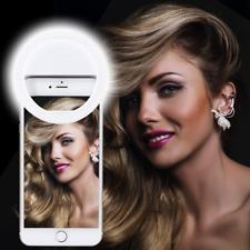 Selfie Ring Light Rechargeable Portable Clip-on *ELITE* Light 36 LED White *NEW*