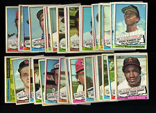 1976 Topps Baseball Complete Set W/ Traded () EX