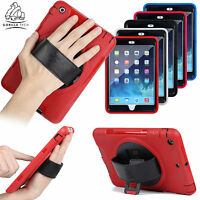iPad Heavy Duty Cover Shock Proof Tough Survivor Case Full 360 Degree Protection