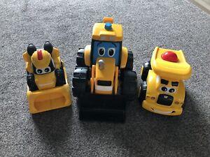 Toys Trucks - JCB and CAT