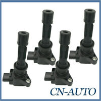 4Pcs Ignition Coils For Mazda 3 6 CX-7 MX-5 Tribute Ford Escape 2.0L 2.3L 2.5L