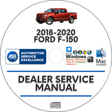 Ford F150 2018-2020 F-150 Factory Service Repair Workshop Manual