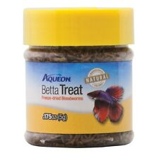 Aqueon Betta Treat Bloodworm .175oz (Free Shipping in USA)