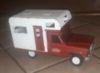 Vintage 1960's metal Tonka Jeep Comanche Gladiator Camper Truck No. 70