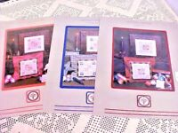 Cross Stitch Charts Lot of 3 Creature Comforts The Bee Dragonfly Squirrel 28 Ct