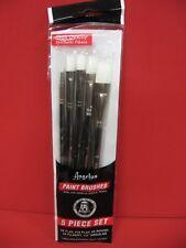 Angelus Paint Brush High Quality - Round -Flat -Angular - Artist Brush set of 5