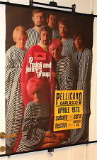 JO FEDELI and JENNY'S GROUP - Garlasco, italy Aprile 1973 poster concerto raro