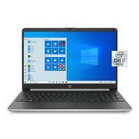 """NEW HP 15.6"""" HD Intel i7-1065G7 3.9GHz 256GB SSD + 16GB Optane 8GB RAM Win10"""