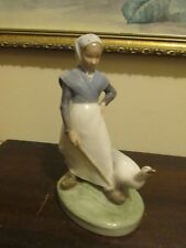 Royal Copenhagen Denmark Thomsen Porcelain Figurine 528 Goose Girl