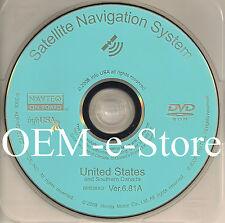 2006 to 2010 Honda Civic EX GX SI Hybrid Navigation DVD Map Version 6.81A Update