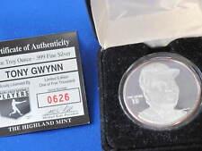 Highland Mint Tony Gwynn Proof Silver Art Medal MLB E2817