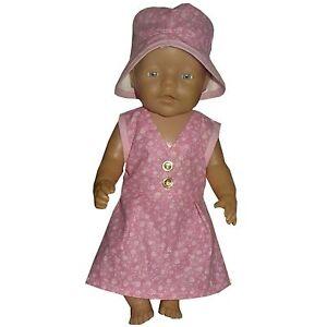 PK09 Puppenkleidung für Baby Puppen 43cm