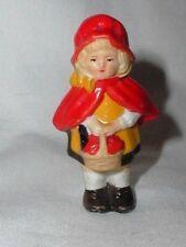 Vintage Cake Decoration Topper Little Red Riding Hood