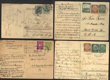 Germany 1930-50's Collection Of 11 Commercially Used Post & Postal Cards