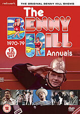 BENNY HILL ANNUALS...1970.79...12 DISC BOX SET