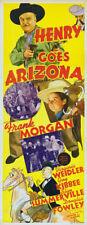 Henry goes Arizona Frank vintage Morgan movie poster
