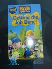 Bob The Builder Getting The Job Done! VHS New Sealed Unopened Sealed  Quick Ship