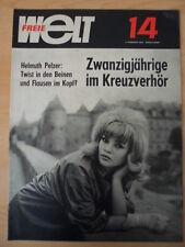 FREIE WELT 14 1964 Zwanzigjährige im Kreuzverhör Südvietnam Spielzeug Blynis