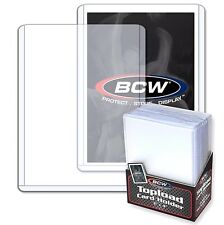 100 3X4 Rigid Card Toploader Holders Plus 100 Penny Card Sleeves Hard Toploaders