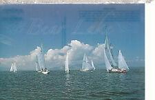 Bear Lake  Sail Boating      Utah   Postcard 8916b