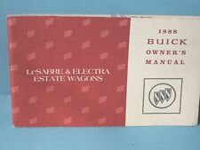 88 1988 Buick Lesabre/Electra Estate Wagon owners manual