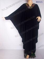 "Butterfly  Abaya/ Jilbab/ Kaftan - Free Size - Lengths 50,51,52,53,54,55.56"""