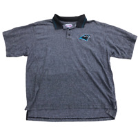 Carolina Panthers Starter Pro Line Short Sleeve Collared Polo Shirt, Size XL