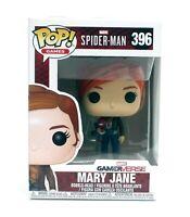 New Funko Pop Marvel Spider Man Mary Jane Gamerverse #396 Vinyl Figure
