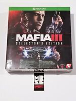 Mafia 3 III Collector's Edition XB1 (Xbox One) New Sealed
