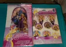 Disney Princess Tangled Rapunzel Birthday Party decorating Kit and Centerpiece