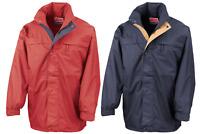 Result Multi Function Midweight Jacket Waterproof Full Zip Hooded 100% Polyester