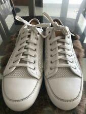 Louis Vuitton Men Leather Fashion Sneakers Exellent condition Shoe Size 10.5