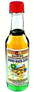 BRING BACK LUCK BATH OIL GOLD & GREEN 5 OZ.