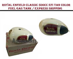 Royal Enfield Classic 500CC EFI TAN Color Fuel Gas Tank