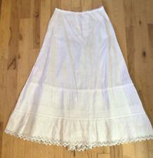 True Vintage Victorian Cotton Petticoat
