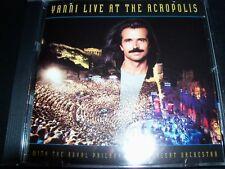 Yanni – Live At The Acropolis (Australia) CD – Like New