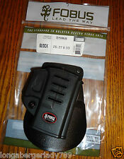 NEW FOBUS CONCEAL CARRY PADDLE HOLSTER 4 GLOCK 26 27 33 PISTOL CONCEAL CARRY GUN