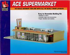 HO Scale Walthers Life-Like 433-1330 Ace Super Market Building Kit