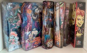 Monster high - Vandala, Boo York, Peri & Pearl, Freaky Fusion, Ghoul Fair Doll.