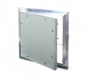 Cendrex 12x12 RAL Extruded Mill Finished Aluminum Frame Access Door w/flange