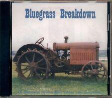 Bluegrass Breakdown - Various Canadian Artists RARE HTF Original CD (Brand New!)