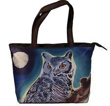 Great Horneed Owl Handbag, Tote Bag by Salvador Kitti