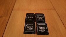 4 MicroSD a SD Adattatore Convertitore Video 2 GB 4 GB 8 GB (4 OFF KINGSTON MICRO SD A SD NUOVO