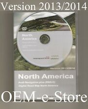 2008 2009 2010 2011 2012 2013 2014 2015 Audi R8 TT RNS-E Navigation DVD Map U.S