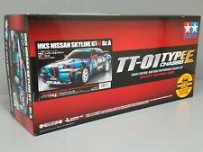 New Tamiya 1/10 RC Car Kit TT-01E Nissan HKS Gr.A Skyline GT-R R32 w/ESC 47397
