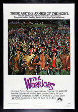 THE WARRIORS * CineMasterpieces 1979 ORIGINAL MOVIE POSTER GANG WAR VIOLENCE