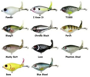River2Sea Whopper Plopper 75 Topwater Bait - Choice of Colors